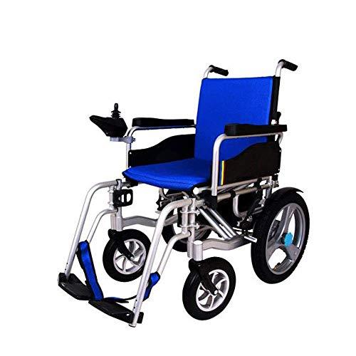 NADAENW Brazos eléctricos Ligeros y Plegables para sillas de Ruedas eléctricas y reposapiés elevables Conduzca con energía o Use como Silla de Ruedas Manual