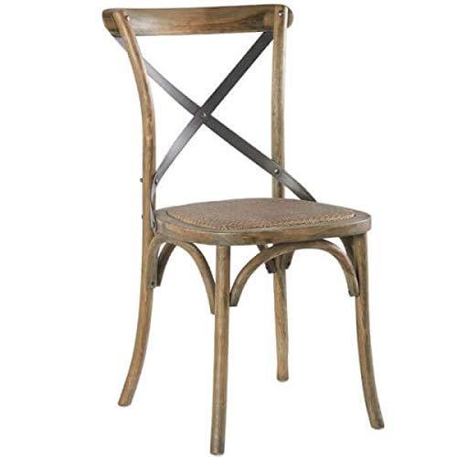 MATHI DESIGN Chaise bistrot Chene
