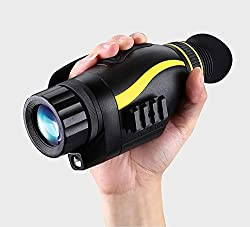 W&HH Night Vision monocular Infrared (Including 32GB TF Card), HD Night Vision monocular Scope Camera, take Photos and Videos for Wildlife and Adult Day and Night Hunting