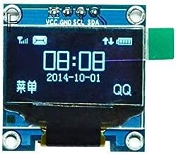 eHUB OLED 0.96 Inch I2C IIC Interface OLED Screen Display 4 Pin (Blue)