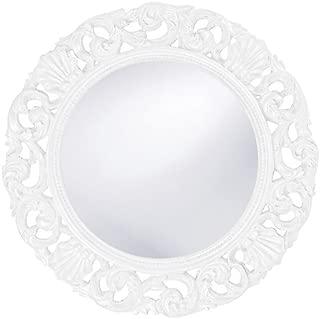Howard Elliott 2170W Glendale Mirror, White