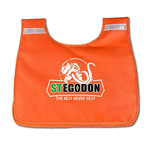 Strong Durable PVC Winch Rope Dampener Blanket with Pocket-Light Orange Color Comily Plus