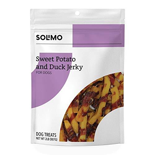 Amazon Brand - Solimo Sweet Potato & Duck Jerky Dog Treats