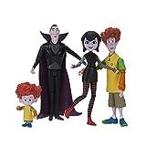 Hotel Trans silvanien 98022dracs Figura Pack (Mavis, Drac, Johnny, Dennis), unisex de niños