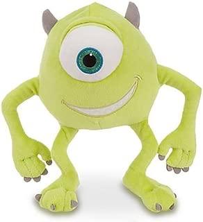 Disney Pixar Monsters, Inc Deluxe Mike Wazowski Plush - 8'' H