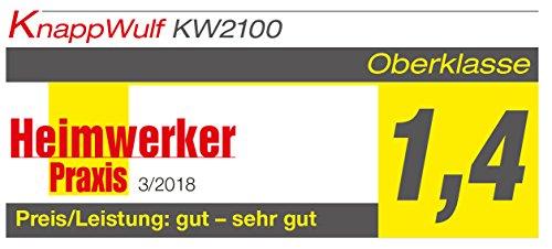 KnappWulf KW2100 Kompressor / 100 Liter / 8 Bar / Ölfrei / Silent - 6