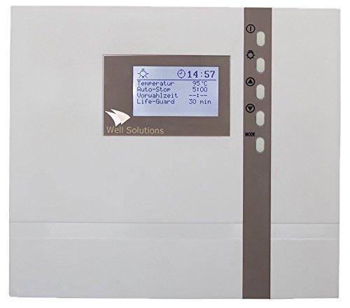 Well Solutions Design Sauna Steuerung Premium D2 Made in Germany für Saunaofen bis 9kW