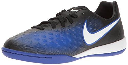 Nike 844422-015, Botas de fútbol para Niños, Negro (Black/White/Paramount Blue/Blue Tint), 28 EU