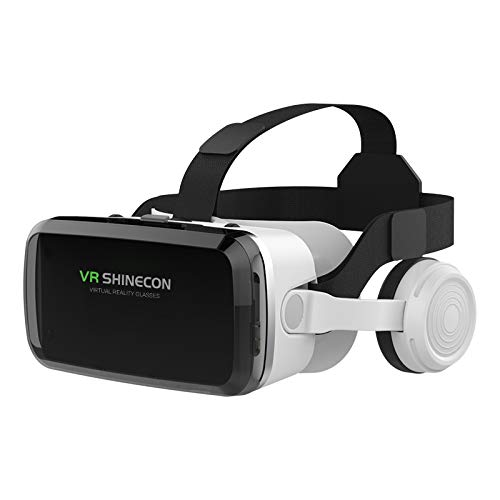 Hankermall VR Headset, VR Glasses FOV 110° iPhone Android Phone 4.7-6.0 New 3D Goggles with Bluetooth Controller for Movies Gift for Kids and Adults Soft/Comfortable Adjustable Distance