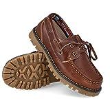 BUBBLE BOBBLE A767-2 Zapatos Nauticos NIÑO - Cuero para: NIÑO Color: Marron Talla: 31