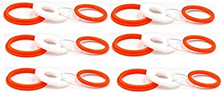 6 Set Replacement Silicone Seals O Ring Gasket O Rings Rubber Bands