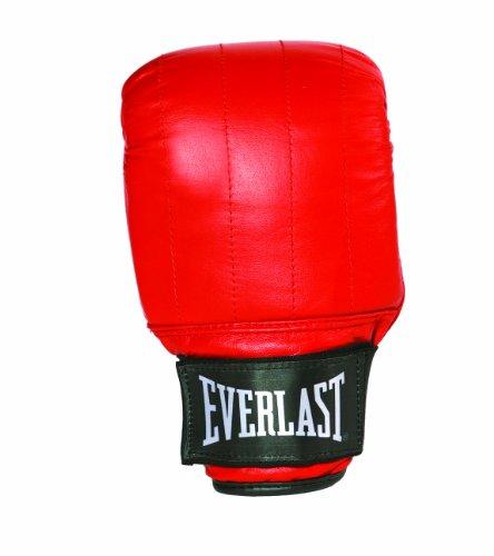 Everlast Herren Leather pro Bag Gloves Boston, rot, S
