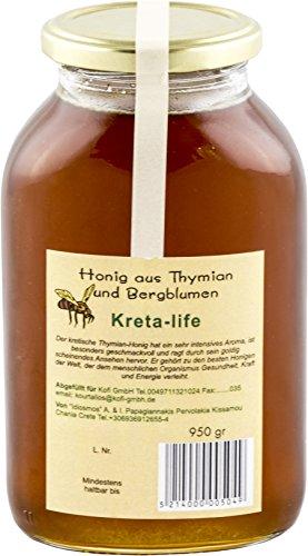 Idiosmos - Honig aus Thymian und Bergblumen - 950g