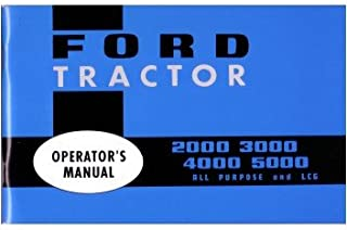 1965 1972 1973 1974 1975 Ford Tractor Owners Manual User Guide Reference Operator Book Fuses Fluids