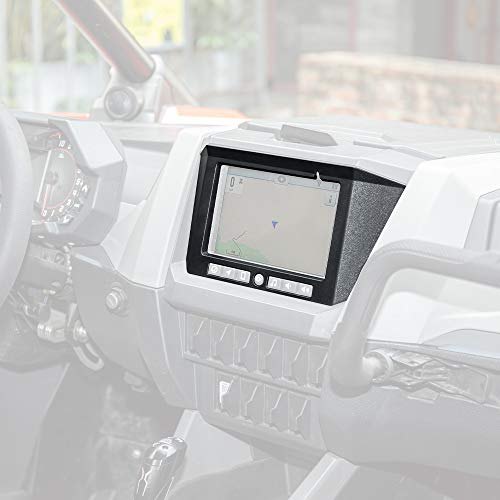 RZR PRO XP Dashboard Frame, KEMIMOTO Plastic GPS Dash Mounting Plate Cover Compatible with 2020 2021 Polaris RZR PRO XP / 4