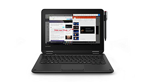 Lenovo 300e 11.6-Inch 2 in 1 Laptop (81FY000BUS)