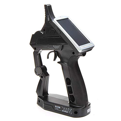 Controller Zender en ontvanger Kit FS-iT4S 2,4 GHz RC System Boot En auto transmitter Met Sensor Set (Color : Black, Size : One size)