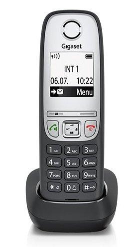 Gigaset Zusatzmobilteil A415H SCHWARZ mit Ladeschale nur für die Telefone A415 / A415A