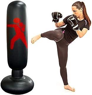 حقيبة ملاكمة قابلة للنفخ للاطفال كيه اتش، بتصميم قائم للياقة البدنية وتخفيف الضغط على الجسم، مناسبة للبالغين والاطفال