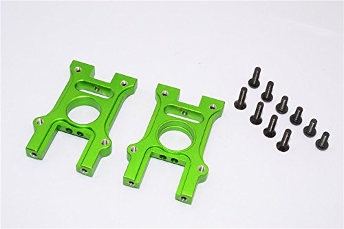 HPI Bullet 3.0 Nitro Upgrade Pièces Aluminium Center Diff Housing - 2Pcs Set Green