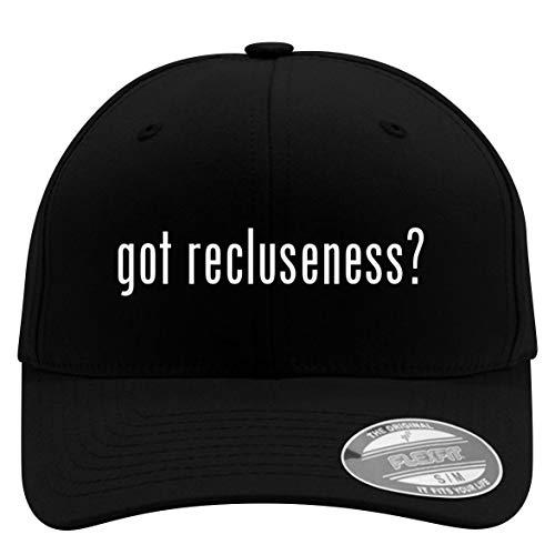 got Recluseness? - Flexfit Adult Men's Baseball Cap Hat, Black, Small/Medium