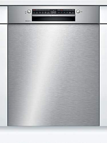 Bosch SMU4HTS35E Serie 4 Unterbau-Geschirrspüler / E / 60 cm / Edelstahl / 92 kWh/100 Zyklen / 12 MGD / Silence Plus / Extra Trocknen / VarioBesteckkorb / Home Connect