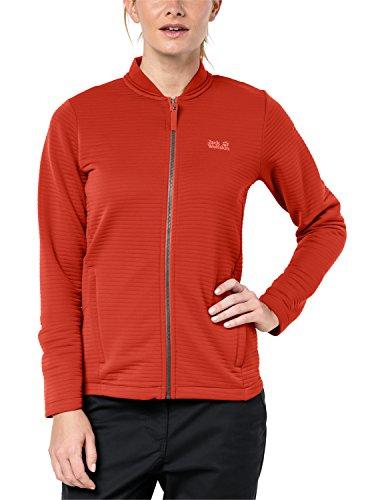 Jack Wolfskin Modesto Jacket Women Größe S volcano red