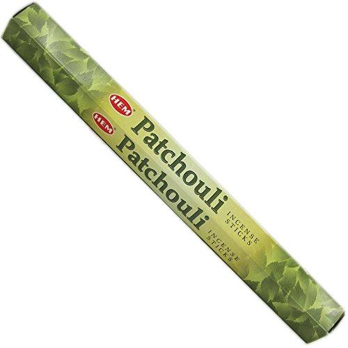Hem – Penis Patchouli in Stäbchen – 3 Packungen à 20 g – Premium-Qualität