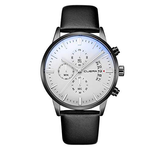 Armbanduhren männer Herrenuhr mit Datum Funktion Herren uhren Quarzuhr Edelstahl Zifferblatt Bracele Uhr Armbanduhr Uhren Armbanduhren Herrenarmbanduh EIN 4001