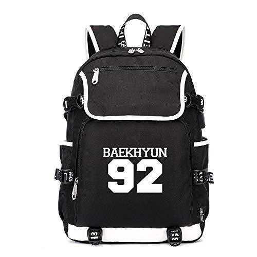 EXO Stilvoll Rucksäcke Schulrucksack Reisetasche Wanderrucksäcke Drucken Rucksack Lässige Daypacks für Frauen und Männer