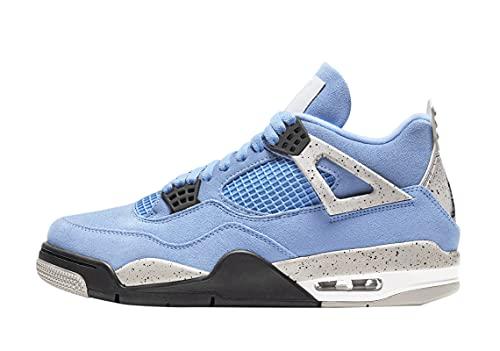 Jordan Mens Air 4 Retro CT8527 400 University Blue - Size 9.5