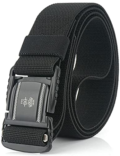DEYACE Magnetic Belt, 1.5Inches Tactical Belt with Magnetic Aluminum Buckle for Men and Women
