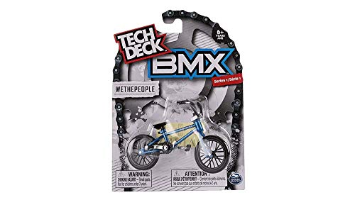 Tech Deck BMX Finger Bike Series 12-Replica Tech Deck Bike Real Metal Frame, Moveable Tech Deck Parts for Flick Tricks Finger Bike Games (Styles Vary)