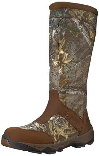 Rocky Men's Retraction Waterproof Side-Zip Snake Boot Knee High, Realtree Xtra, 11 M US