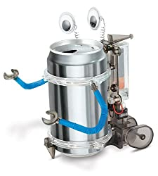 A fun tin can robot 10 year anniversary gift idea for him