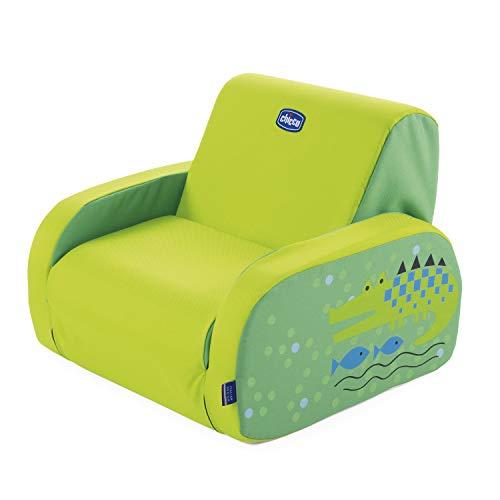 Chicco Twist - Sillón de piel de cocodrilo, Verde