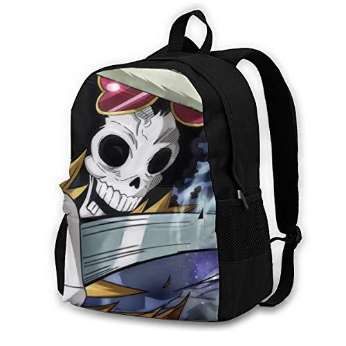 One Piece Brook - Zaino da viaggio per adulti, colorato, leggero, con stampa, durevole, grande capacità