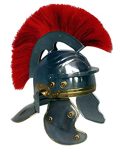 Graf von Gerlitzen Larp Römer Helm Römerhelm Ritterhelm Legionär Graf von Gerlitzen Offizier D194