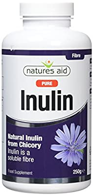 Natures Aid Pure Inulin 250g (Pack of 2)