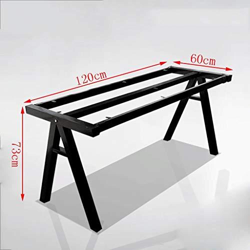Base de escritorio Patas de mesa de comedor de hierro forjado Marco de escritorio simple, atico Base de mesa de comedor de hierro forjado vintage, Soporte Mesa de escritorio de escritorio Mesa de te P