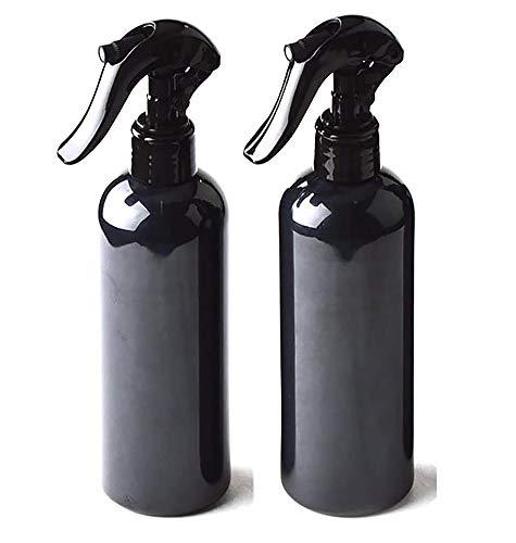 2個 スプレーボトル 300ml プラスチック製 ハンドスプレー霧吹き 遮光スプレー 細かいミスト 詰め替え容器