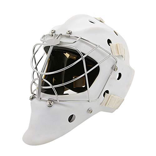 CX TECH Hockey Helm Stahl Combo Eishockey Maske Helm Käfig Starke Schlagfestigkeit Gesichtsmaske Schutzausrüstung,M