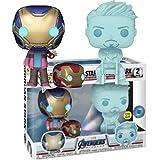 Marvel Avengers Iron Man Morgan Star Y Tony Stark (Paquete De 2) # 02 Marvel Pop Figura Juguetes Decoración Regalos para Niños