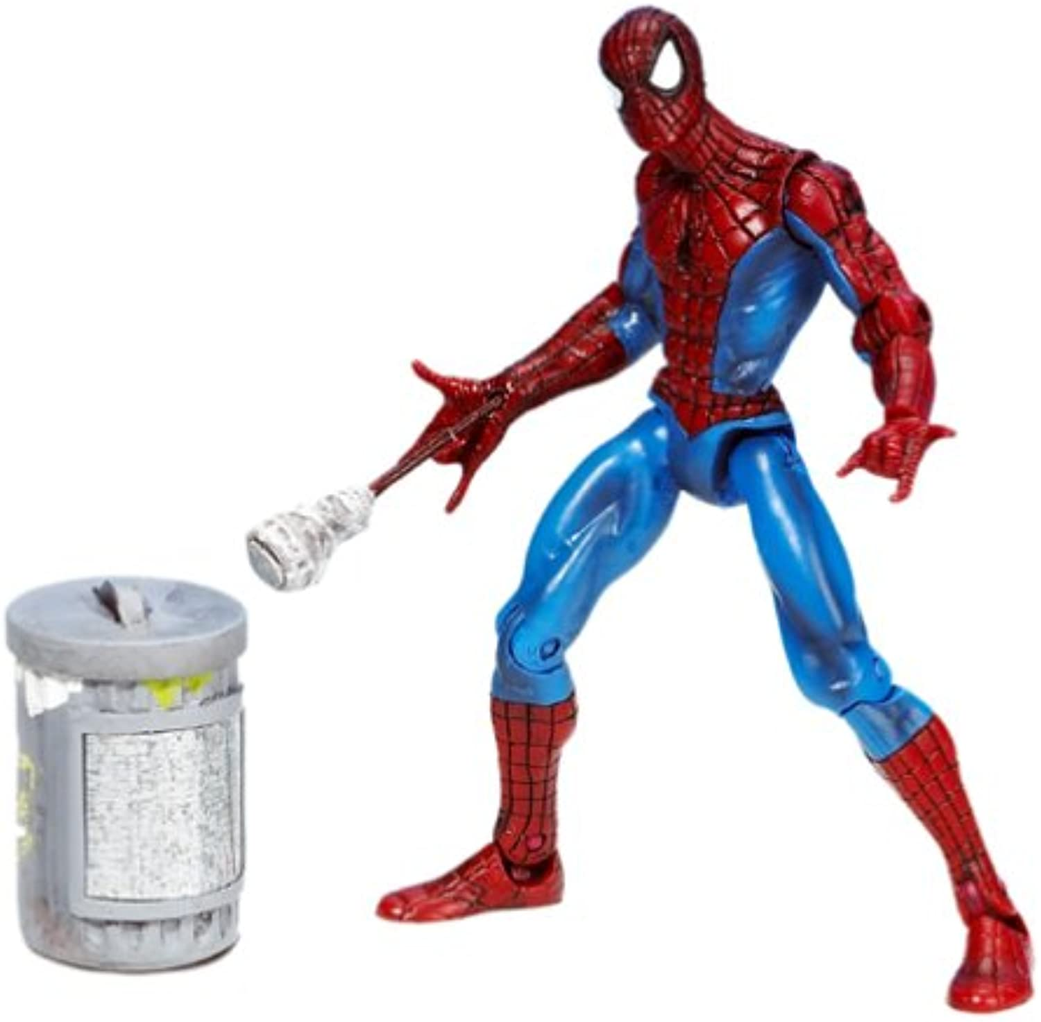 SpiderMan With Magnetic Shoot 'n Grab Action Spider Man Figure