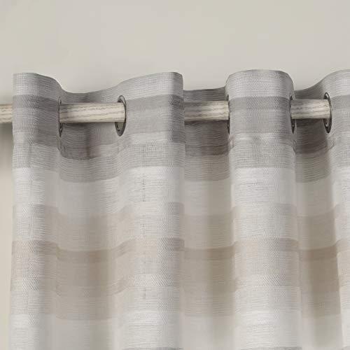 cortinas translucidas con ojales