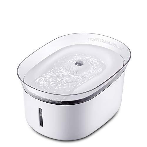 HoneyGuaridan W18 Fuente de Agua Automática para Mascotas, Bebederos...