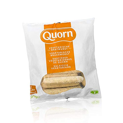 Quorn™ Bratwurst, vegetarisch, Mycoprotein, TK, 2,07 kg, 23 x 90g