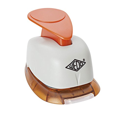 WEDO Cloverleaf Shape Craft Punch grau, orange