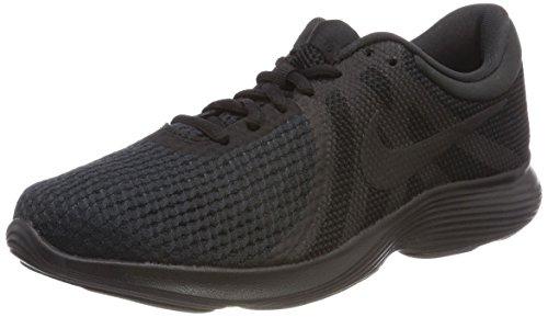 Nike Wmns Revolution 4, Zapatillas de Deporte Unisex Adulto, Negro (Negro Aj3491 002), 40.5 EU