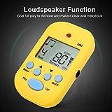 Metrónomo M50, Metrónomo Digital, Metrónomo Tempo de 5 colores, para Piano Trap Drum Guitar para Beth(yellow)